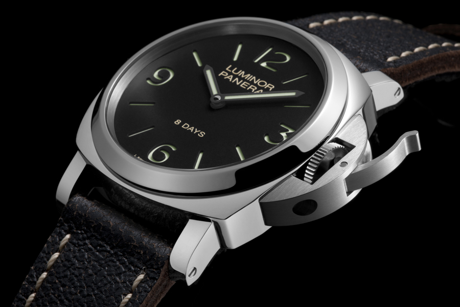 Basisarbeit: Die Panerai Luminor 8 Days Acciaio im Test