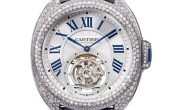 Cartier Clé de Cartier Flying Tourbillon Uhr Replica Para mujeres