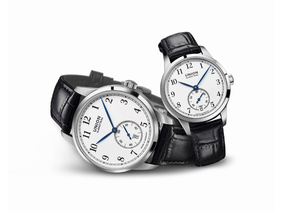 Falsa Masculino Union Glashütte Uhr