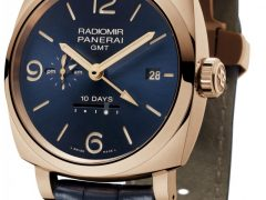 Panerai: Radiomir 1940 10 Days GMT Automatic Oro Rosso