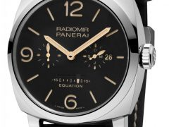 Panerai: Radiomir 1940 Equation of Time 8 Days Acciaio