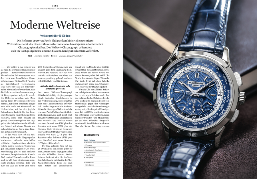 was kann der neue weltzeit chronograph von patek philippe. Black Bedroom Furniture Sets. Home Design Ideas