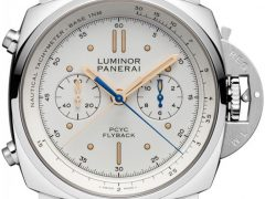 Panerai: Luminor 1950 PCYC 3 Days Chrono Flyback Automatic Acciaio PAM00654