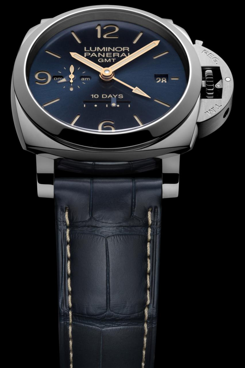 Panerai: Luminor 1950 10 Days GMT Automatic Acciaio