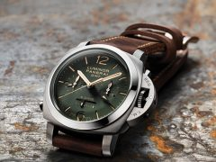 Panerai: Luminor 1950 Chrono Monopulsante 8 Days GMT Titanio 44 mm, Referenz PAM00737