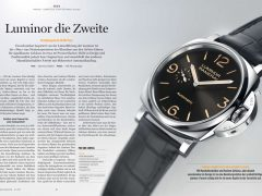 Aufmacher UHREN-MAGAZIN-Test der Panerai Luminor Due Titanium Replik Luminor Due ´3 Days Automatic Acciaio