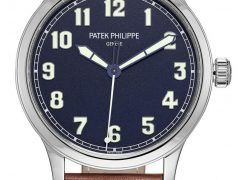 Patek Philippe: Calatrava Pilot Referenz 5522 New York 2017 Special Edition
