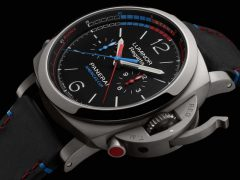 Panerai: Luminor 1950 Regatta Oracle Team USA 3 Tage Chrono Flyback Automatik Titan 47mm